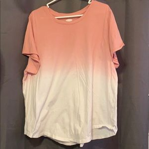 Pink ombré old navy T-shirt